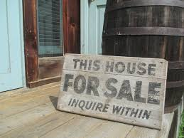 THIS HOUSE FOR SALE antique HAND PAINTED good OLD sign VINTAGE real estate  sign | Real estate signs, Old signs, Vintage signs